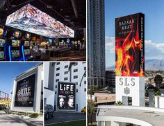 SLS Las Vegas Features Dynamic Daktronics LED Video Spectaculars