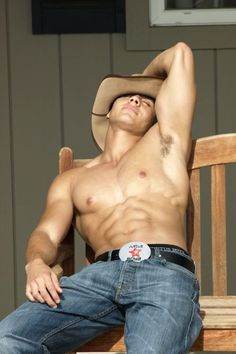 Sexy Man, Gorgeous Guy, Hott Men, Abs of Steel, Pecs, Masculine, Hard, Sports Sweaty, Yummy, Nummy, Ripped, Stunning, Muscular, Built, Hairy, Eye Candy, Cowboy, Arm Pits, belt Buckle