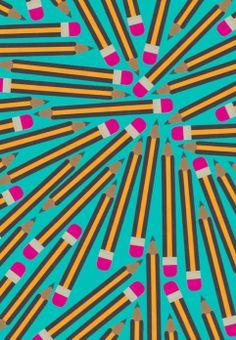 Pencil Print #spaincreative