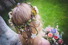 LAUREL | woodland cascade crown by Opheliabea