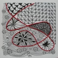hand embroidery zentangles - Google Search
