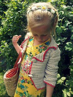 Faye in #bengh #kindermodeblog.nl Crochet inspiration!