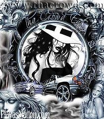 Lowrider Arte Roses | Chicana Lowrider Arte Sports Car Posters