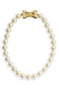 shop.nordstrom.com kate spade pearl necklace.