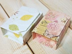 Great tutorial but NOT in English. Origami Gift Box, Marimo, Tweety, Creations, Gift Wrapping, Paper, How To Make, Gifts, Handmade