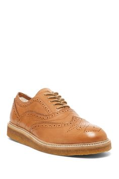 Lord Genuine Shearling Lined Oxford
