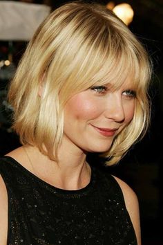 """""""Bob hairstyle is the most fashionable style with hairs falling down between ears and the chin. The style has regained popularity and has discovered many versions of the original bob cut.Discover more: #Allhairstylesblog #BobHairstylesForFineHair #BobHairstylesForFineHairwithbangs #BobHairstylesForFineHairover50 #BobHairstylesForFineHairroundface #BobHairstylesForFineHairchoppy"""