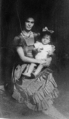 Frida y su sobrina Isolda