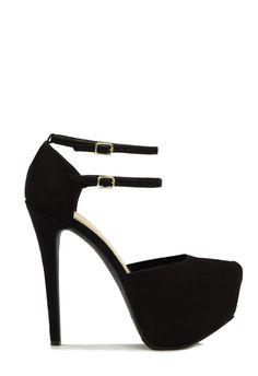 £35 Yolande Shoes in Black - Get great deals at JustFab