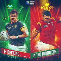 Huge #RWC2015 day ahead the question is which side are you backing_______ #RSAvWAL
