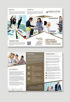 Multi Purpose Tri Fold Flyer Template PSD