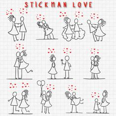 Stick Figure Clipart Clip Art, Stick Love Couple Clipart Clip Art Commercial & Personal Use Valentine's day di TeoldDesign su Etsy https://www.etsy.com/it/listing/241979112/stick-figure-clipart-clip-art-stick-love