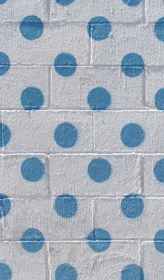Feeling dotty. Polka dotted street art in Brooklyn, NY