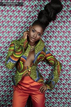 All Things Ankara: Lookbook: Oyato's Deviant Arte: Fall 2015 Collection
