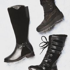 And the boots just keep on coming! It doesn't get much better than @pajarcanada for waterproof warm and chic snow boots. Come try on a pair today before they disappear! #cold #staywarm #snow #snowboots #wintertime #winter #fall #boots #shoes #instashoes #instaboots