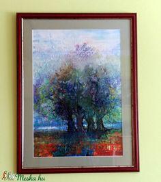 Négyen - akvarell festmény (Levay61) - Meska.hu Painting, Art, Art Background, Painting Art, Kunst, Paintings, Performing Arts, Painted Canvas, Drawings