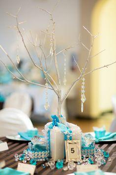 Fab Tiffany & Co Themed Wedding Reception Decor