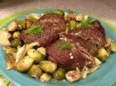 What I Gather: Fennel and Brussels Sprouts Sirloin Rolls