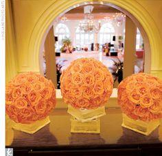 gorgeous flower balls