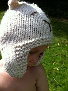 Free Knitting Pattern - Baby Bear