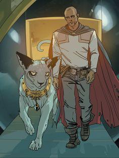 Saga: The Will & Lying Cat.