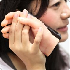 Hand-Shaped iPhone Case. Uh, no words...