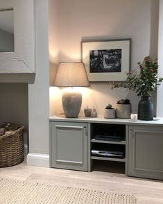 The Typical 'Side Return Extension' - Side return extension , Alcove Ideas Living Room, Living Room Decor Inspiration, Living Room Designs, Cottage Living Rooms, Living Room Grey, Home And Living, Room Interior, Interior Design, Interior Office