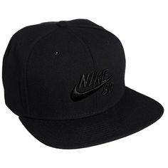 f142ee90208 Nike SB Icon Snapback Cap ( 38) ❤ liked on Polyvore featuring accessories