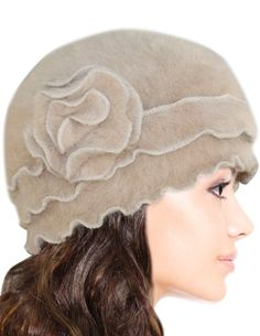 58742cc5738 Women s Super Soft Solid Color Knit Angora Beanie Hat Types Of Hats