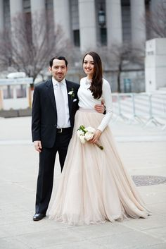 See 16 Adorable New York Couples Tie The Knot At City Hall #refinery29  http://www.refinery29.com/spring-city-hall-weddings-nyc#slide-34  Love on the Hudson! Dmitri was playing soccer and Stephany was taking photographs when they found each other.