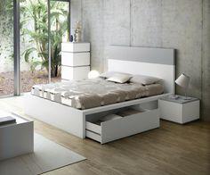 sengestel med opbevaring - Google-søgning