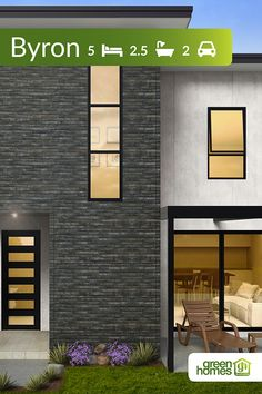 Green Homes Australia - Your Trusted Green Home Builder Green House Design, The Byron, Two Storey House, Energy Bill, Energy Efficient Homes, Australian Homes, Large Bedroom, Clever Design, Open Plan Living