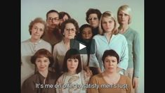 Women Reply Réponse de femmes: Notre corps, notre sexe What does being a woman really mean? How do women live the status society reserves for them? 1975, Agnes Varda, Feminine Mystique, Lust, Couple Photos, Movie Posters, Photography, Things To Sell, Fotografie