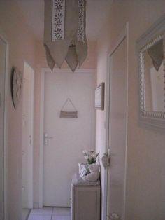 Photos décoration de Couloirs, petits espaces Blanc Crème de feerie49