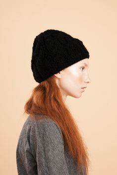 Evyi — Pigtail Cap (schwarz)