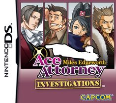 Ace Attorney: Miles Edgeworth cover