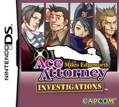 Ace Attorney: Miles Edgeworth cover