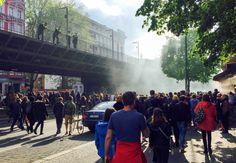 Erst der friedliche 1. Mai, danach S-Bahn Streit - BEWOCON