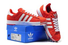 new arrival 07dc4 89b6e Adidas Superstar 2 Lite Md Sole Shoes USA Sale Red White Women