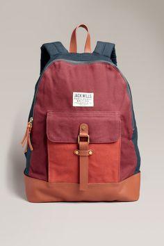 The Earnshaw Backpack | Jack Wills http://www.jackwills.com/en-gb/product/earnshaw-backpack-10000538301