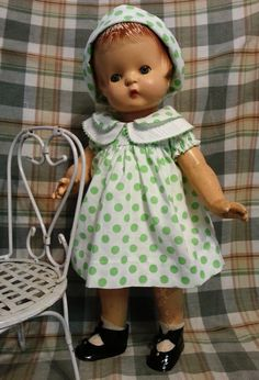 1928 Effanbee Patsy Ann composition doll