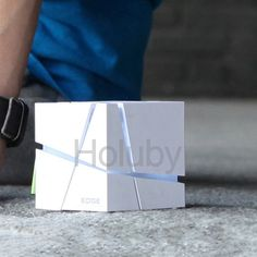 zuoqi ZQ-X101 Wireless Powerful Mini Portable Support TF Card FM Radio Bluetooth Magic Cube Speaker - Grey