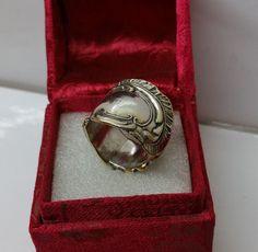 185 mm Besteckschmuck Silberbesteck Ring von BesteckschmuckBaron