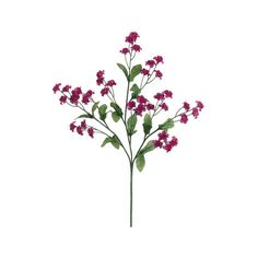 """19"""" Baby's Breath in Magenta 