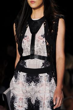Leather Harness #Trend for Spring Summer 2013.  BCBG Max Azria Spring Summer 2013.#Fashion