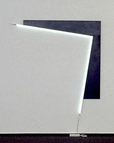 light installation, Heiner Thiel
