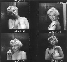 Marilyn Monroe photographed by Cecil Beaton in 1956