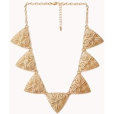 FOREVER 21 Cutout Craze Geo Necklace (£5.34) ❤ liked on Polyvore featuring jewelry, necklaces, gold, gold chain necklace, gold jewelry, gold jewellery, gold geometric necklace and short chain necklace