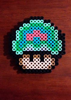 Funky Mushroom Collection - Metroid Mushroom via eb.perler. Click on the image to see more!