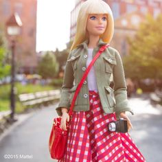 Excited to have landed in The Big Apple for New York Fashion Week! What shows are you most excited for?  #NYFW #barbie #barbiestyle